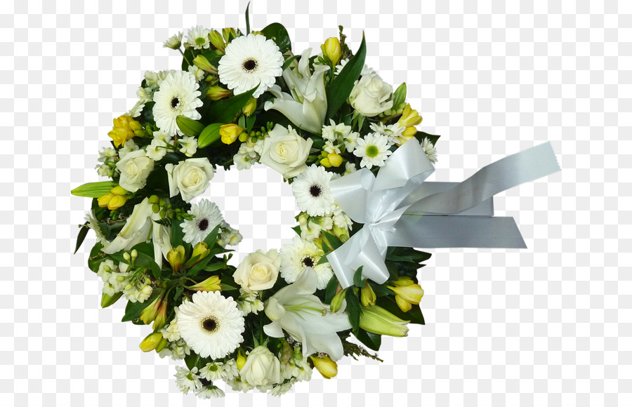 Funeral clipart funeral wreath. Floral flower background