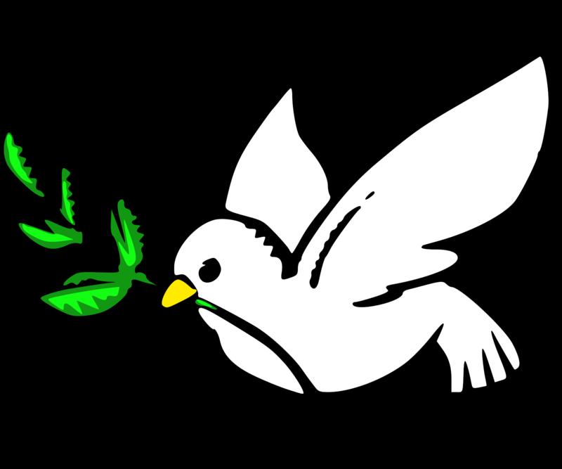 In memoriam button. Peace clipart funeral program