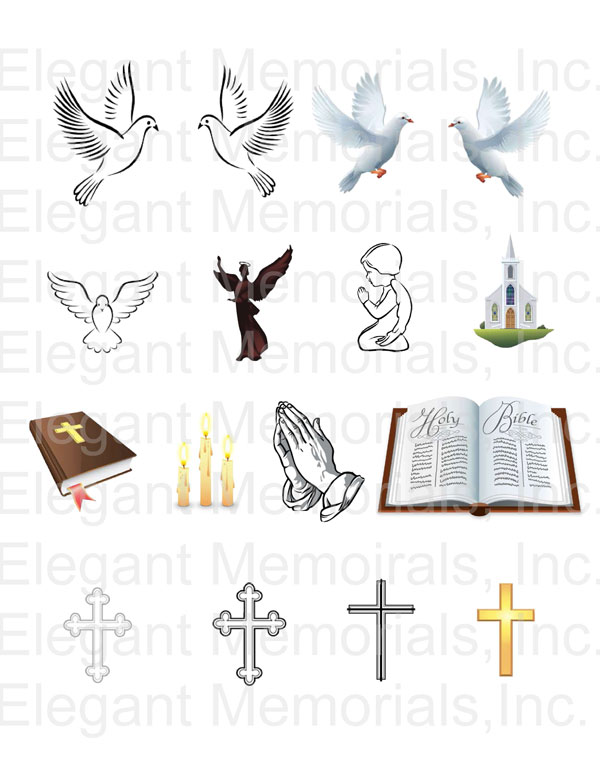 Program and vol . Funeral clipart memorial service