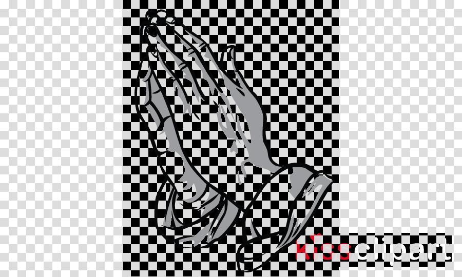 Praying hands guts berserk. Funeral clipart prayer
