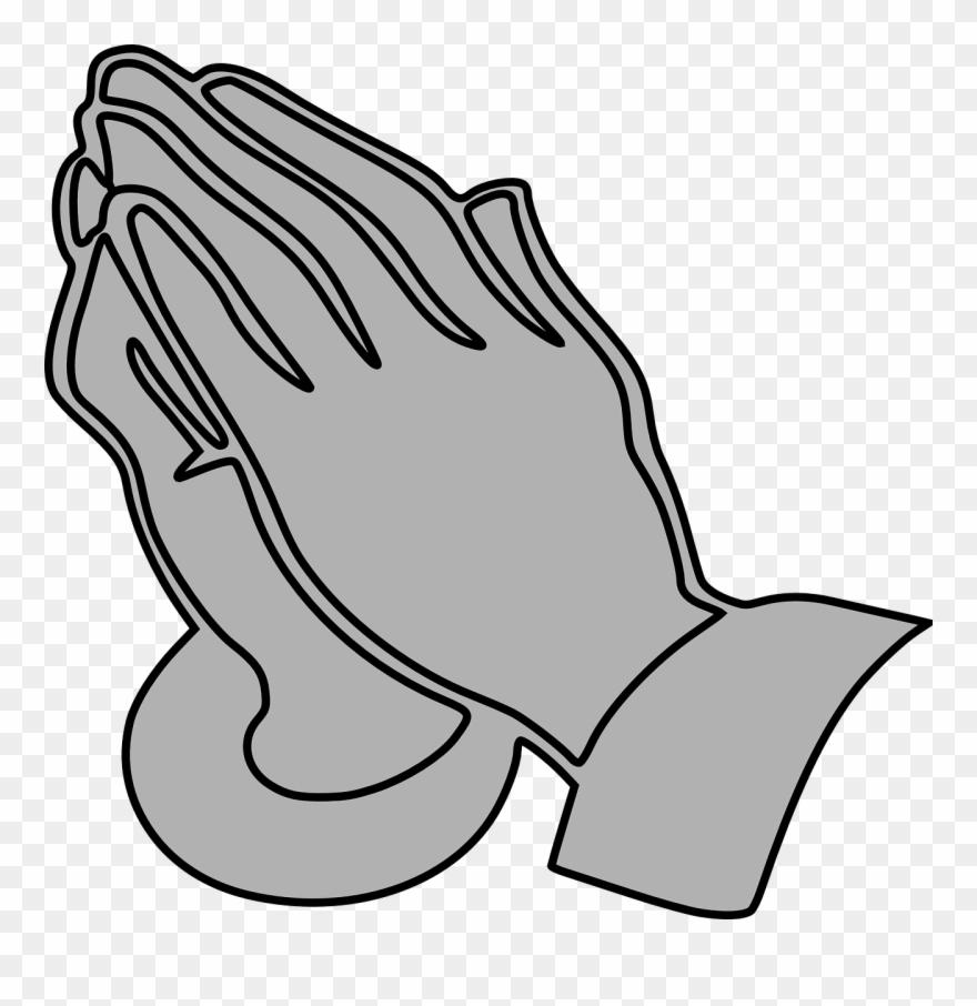 Funeral clipart prayer. Gray praying clip art