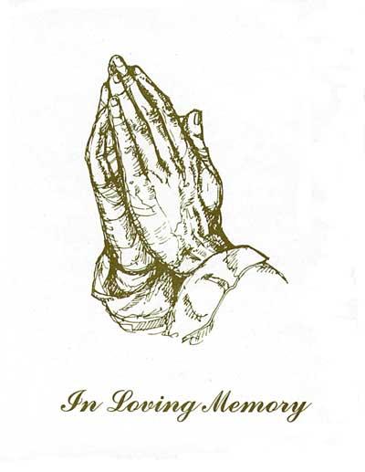Funeral clipart prayer hand. Free download clip art