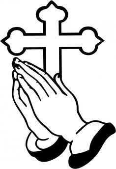 Pray cliparts free download. Funeral clipart prayer hand