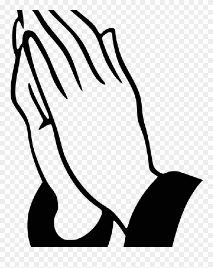 Funeral clipart prayer hand. Praying hands history