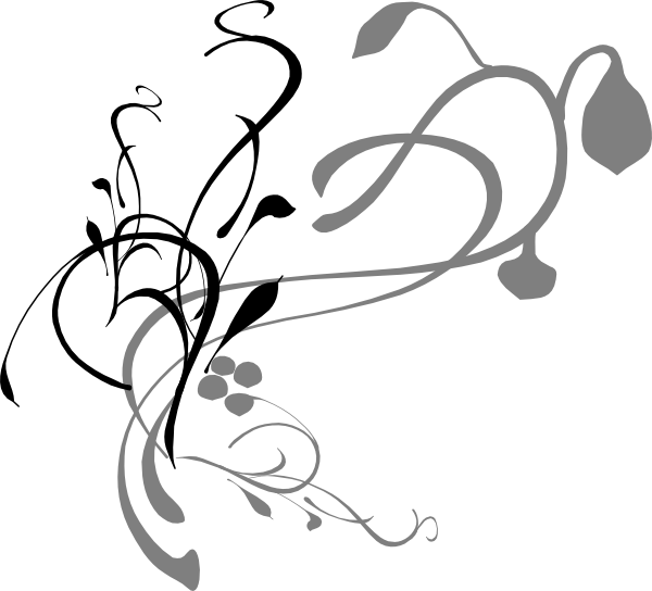 Program cliparts zone . Funeral clipart scrollwork