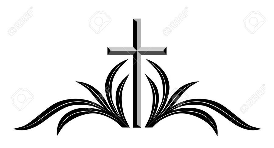 Download cross clip art. Funeral clipart symbol