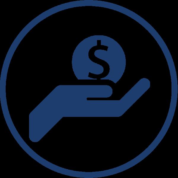 Financing program basic funerals. Funeral clipart symbol