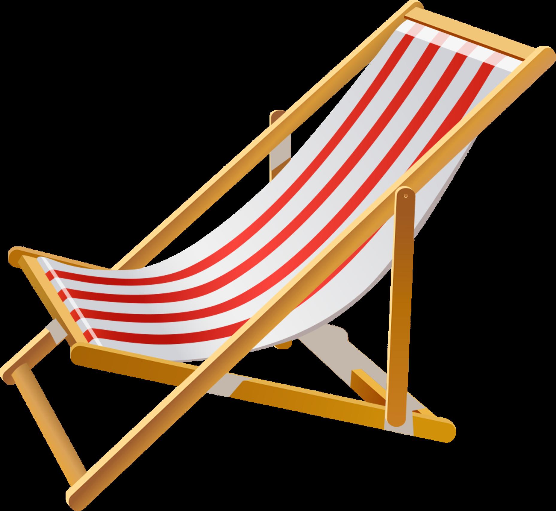 Chair beach hd hand. Furniture clipart adobe illustrator
