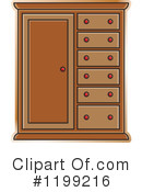 Furniture clipart almira. Royalty free rf illustrations