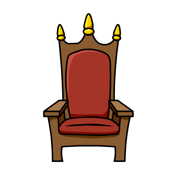 collection of throne. Furniture clipart animated