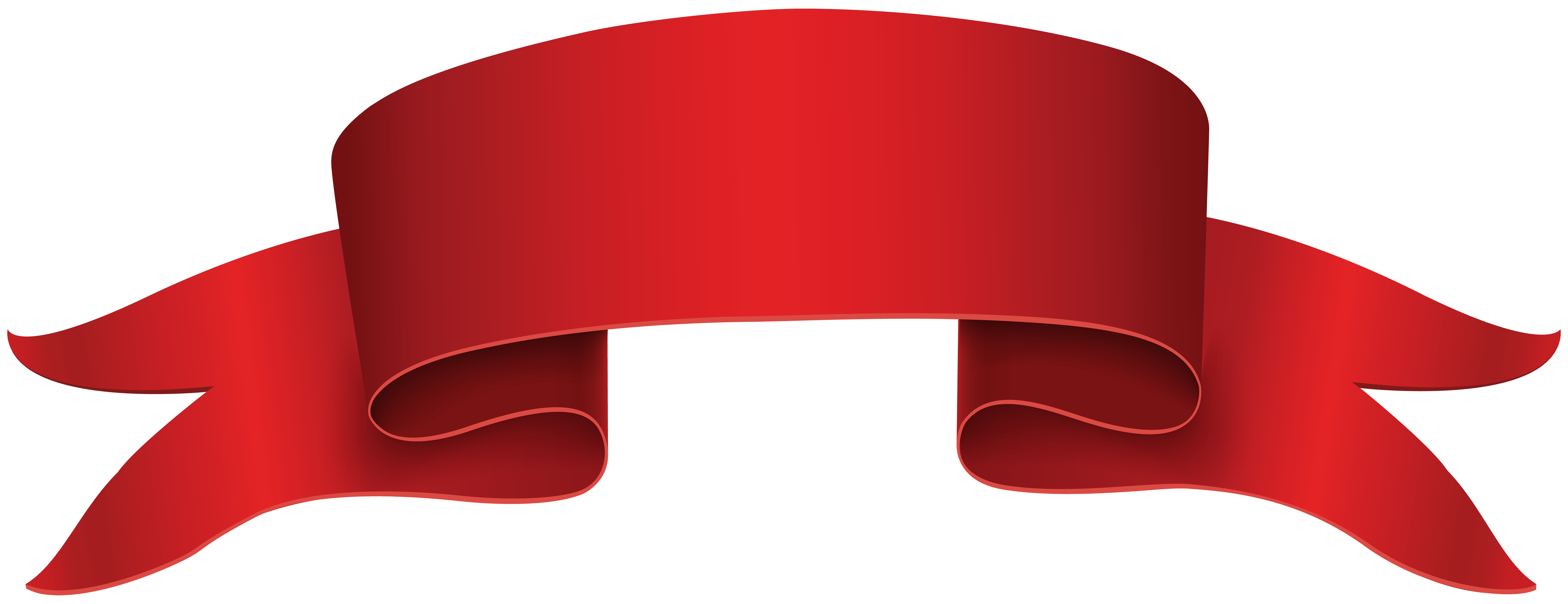 Red banner png clip. Furniture clipart architecture