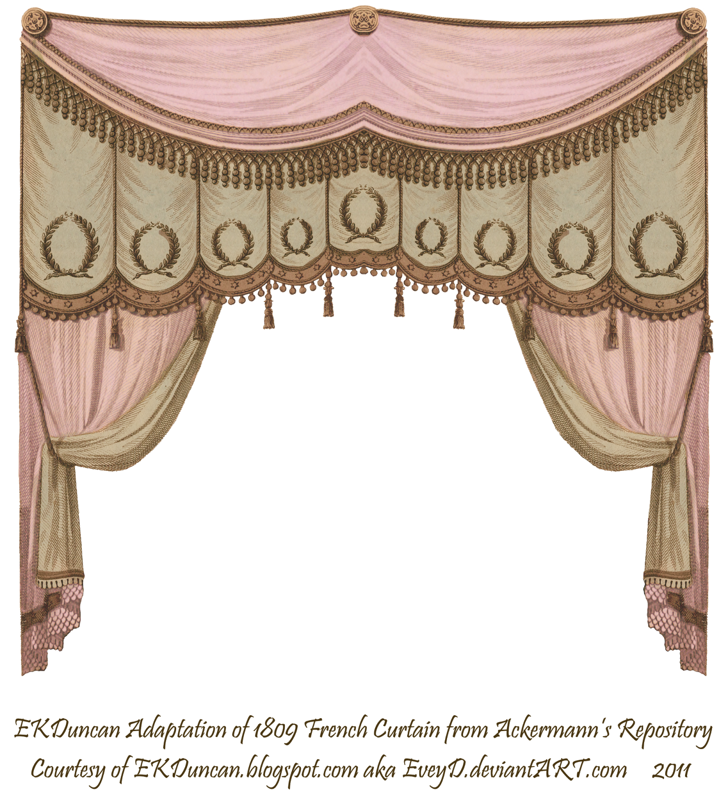Image result for beautiful. Furniture clipart bedroom curtain