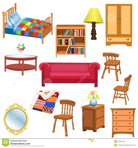 Furniture clipart bedroom thing. Clip art brine