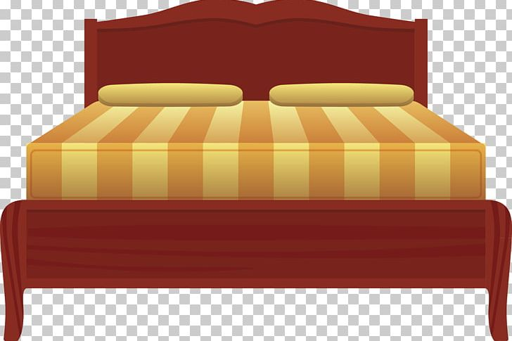 Nightstand sheet frame png. Furniture clipart big bed