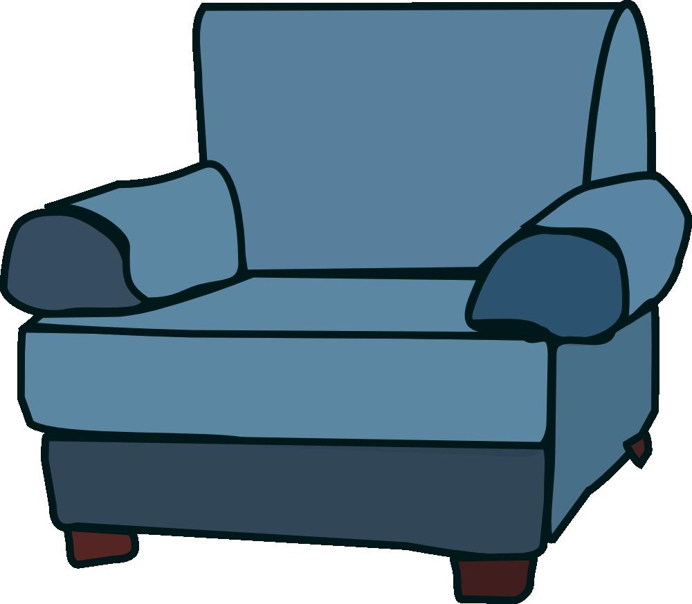 Onlinelabels clip art armchair. Furniture clipart blue chair