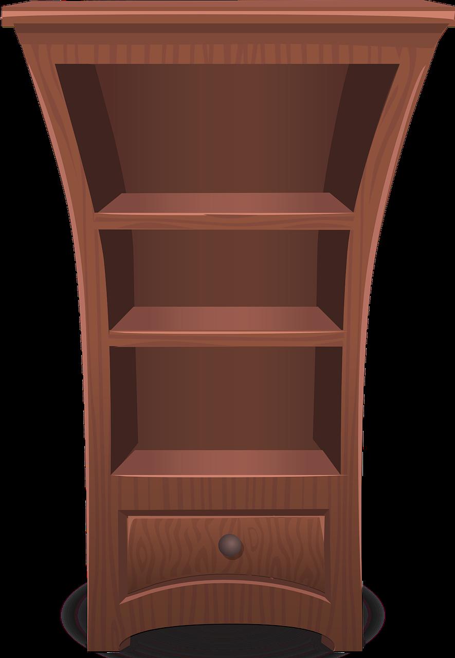 Free image on pixabay. Furniture clipart bookshelf