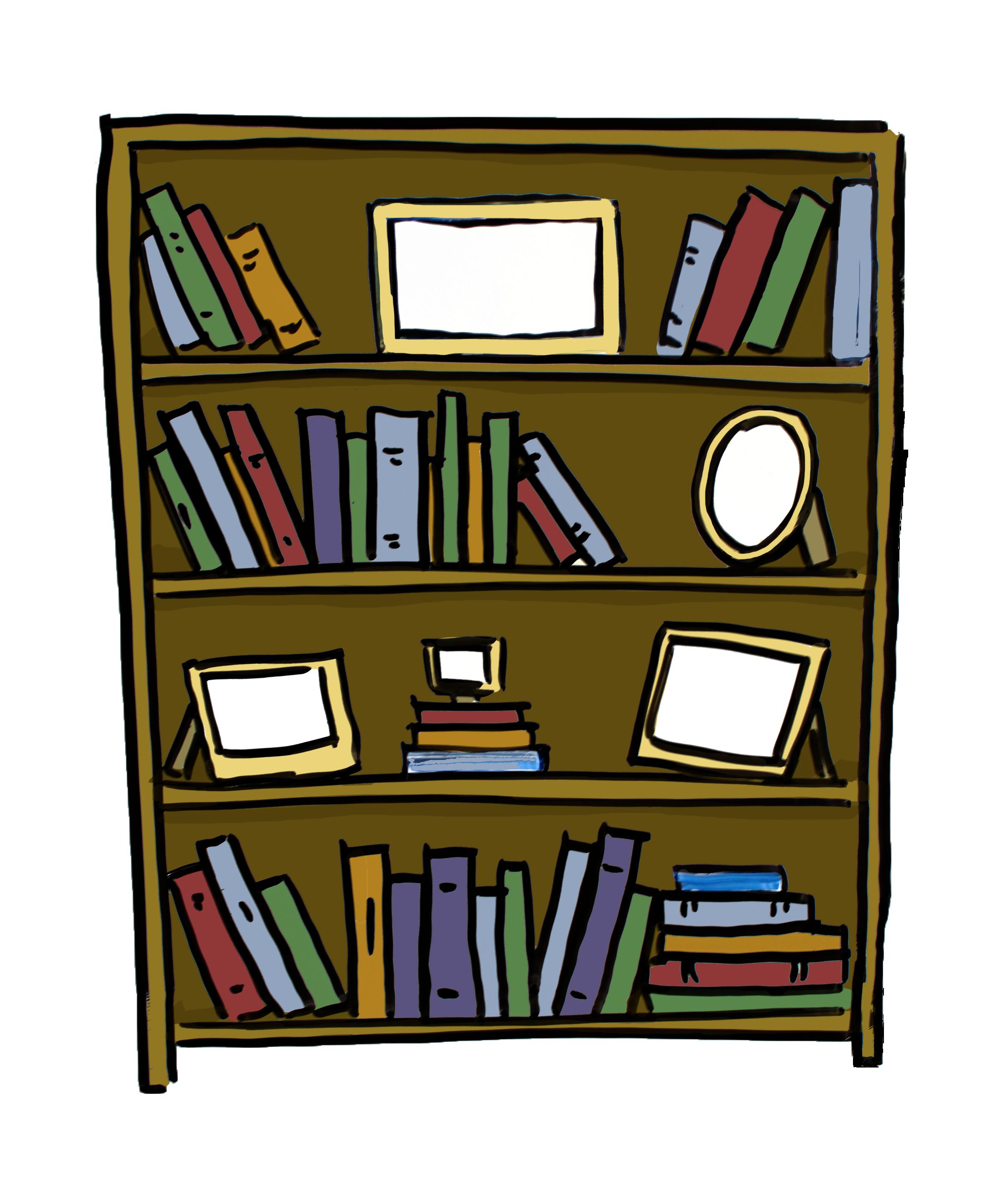 Furniture clipart bookshelf.  d colour next