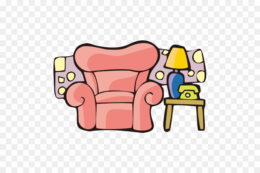 Furniture clipart cartoon.  png chair download