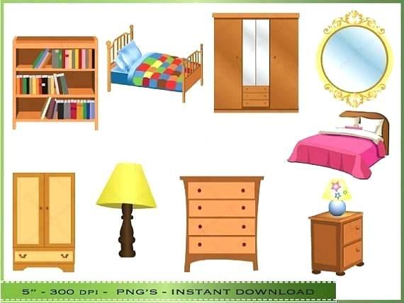Furniture clipart child bed. Kids bedroom starrgutters co