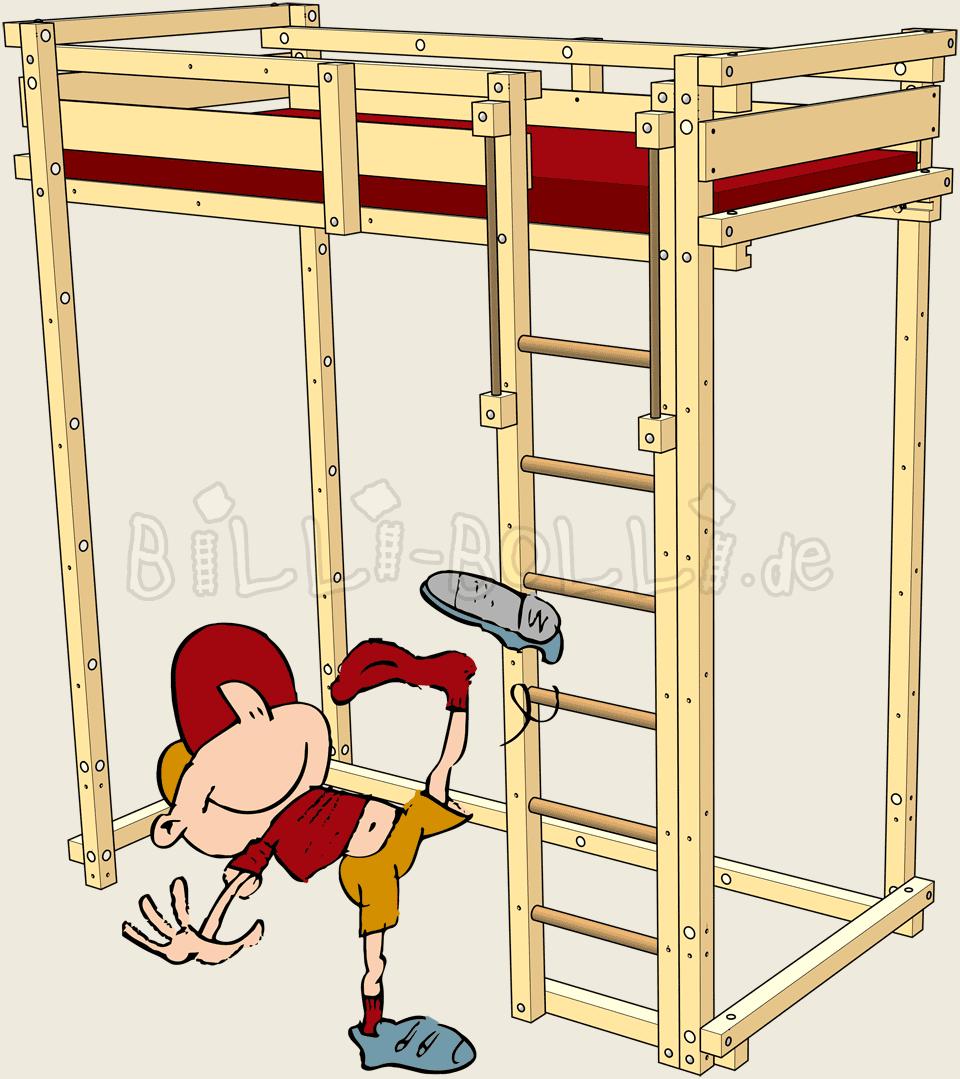 Students loft billi bolli. Furniture clipart child bed
