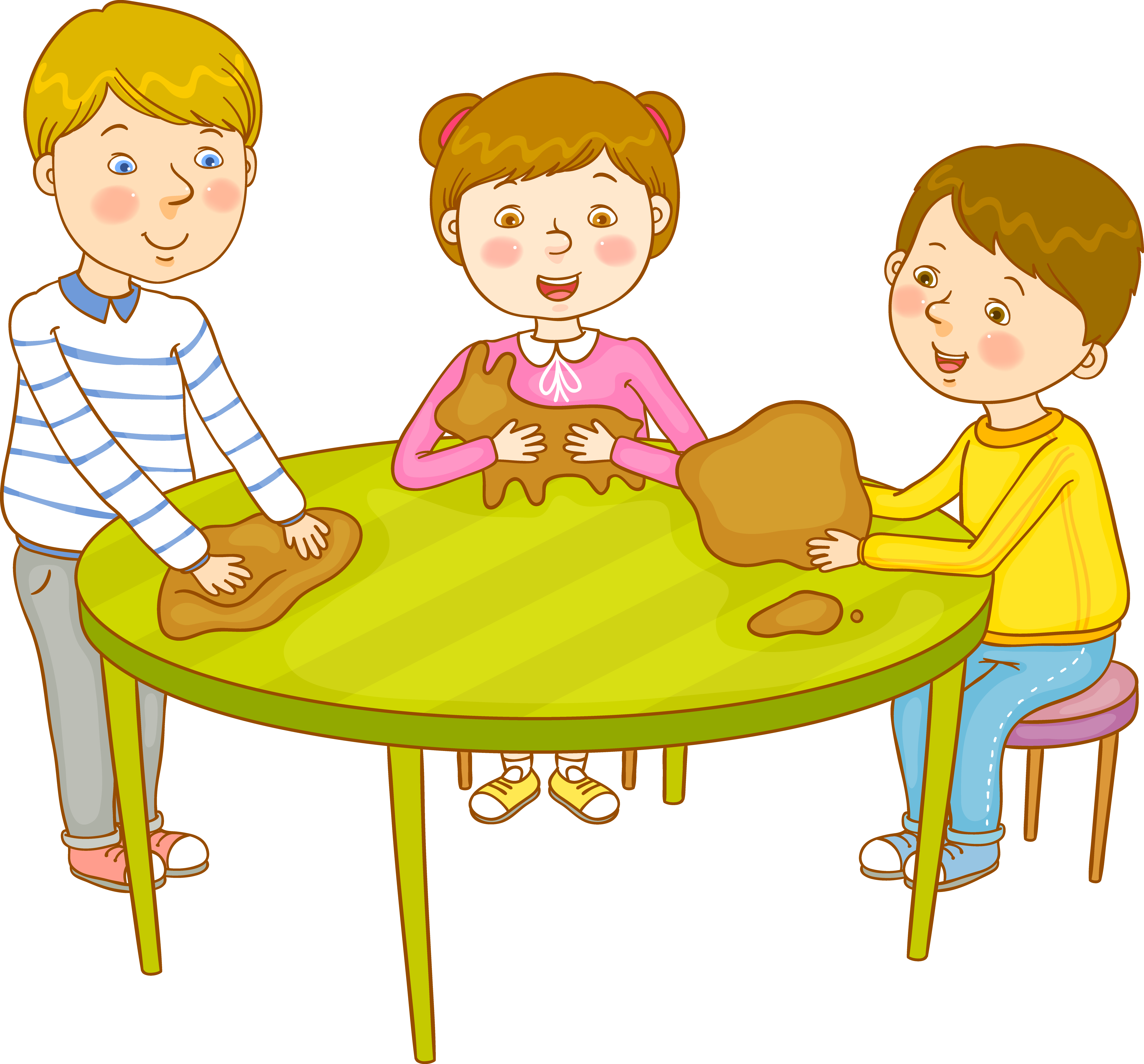 Child cartoon clip art. Furniture clipart children's