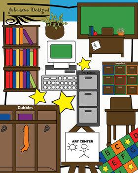 . Furniture clipart classroom furniture