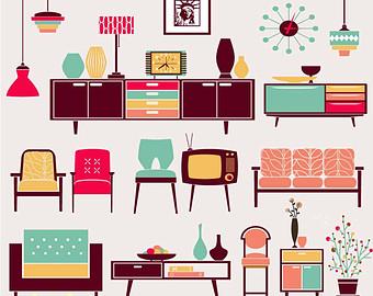 Furniture clipart clip art. Library