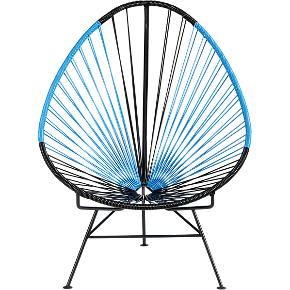 Acapulco chairs from cb. Furniture clipart comfy chair
