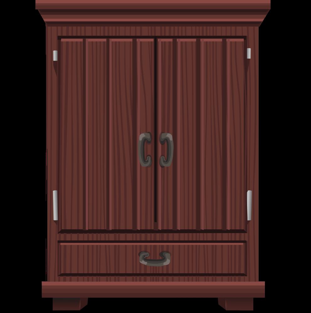 Onlinelabels clip art mahogany. Furniture clipart cupboard