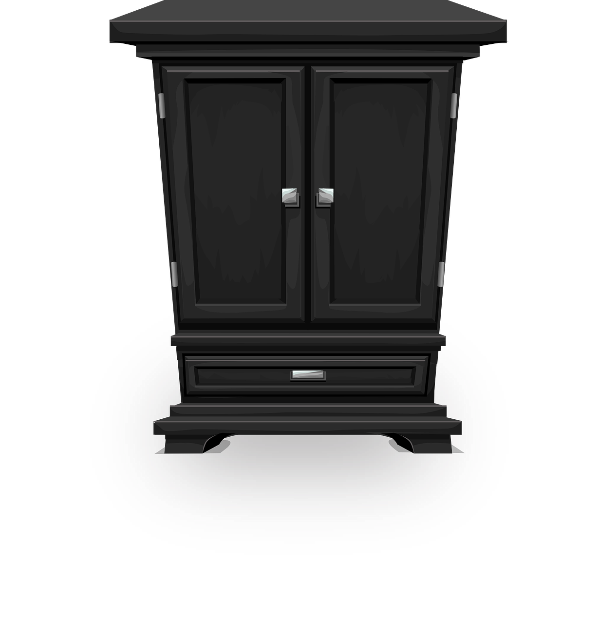 Furniture clipart cupboard. Free image on pixabay
