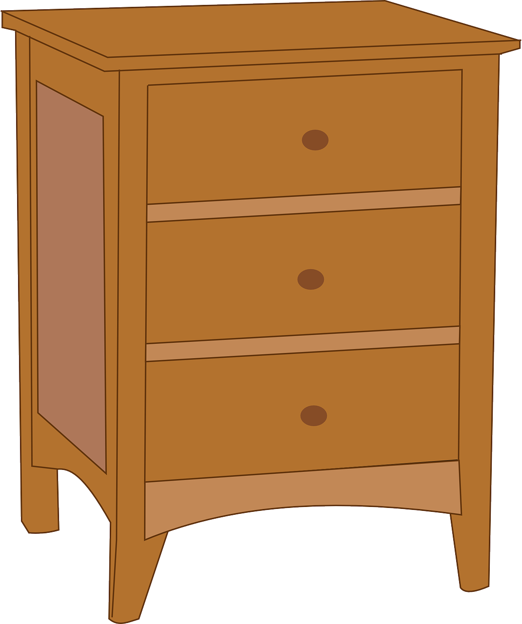 Furniture clipart cupboard. Bedside tables coffee clip