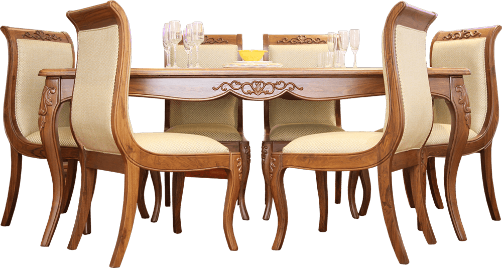 Furniture clipart dining area. Png dinner table transparent