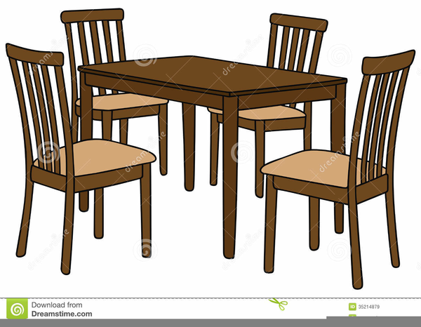 Furniture clipart dining area. Room table free images