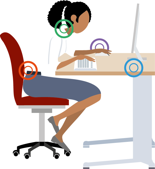 Furniture clipart dusting. Extend sit stand workstation