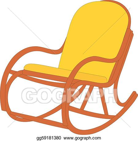 Vector art eps gg. Furniture clipart easy chair