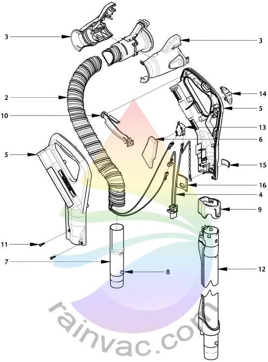 Rainbow power nozzle pn. Furniture clipart electric fan