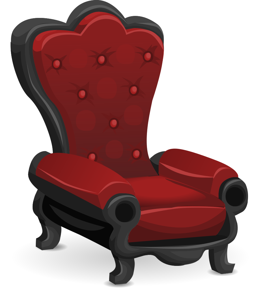 Furniture clipart fancy sofa. Onlinelabels clip art chair