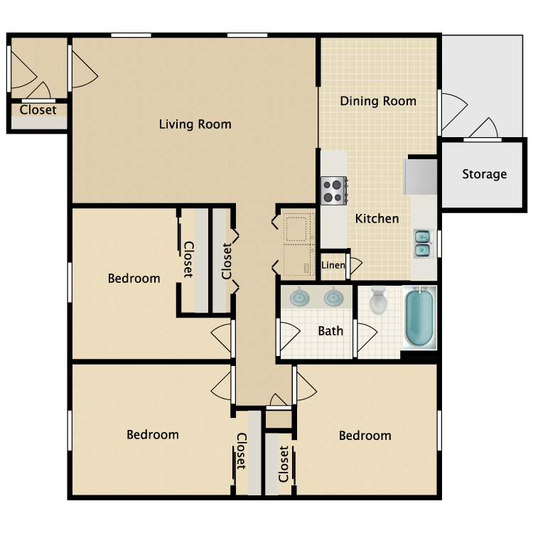 Furniture clipart floor plan. Oak grove common availability
