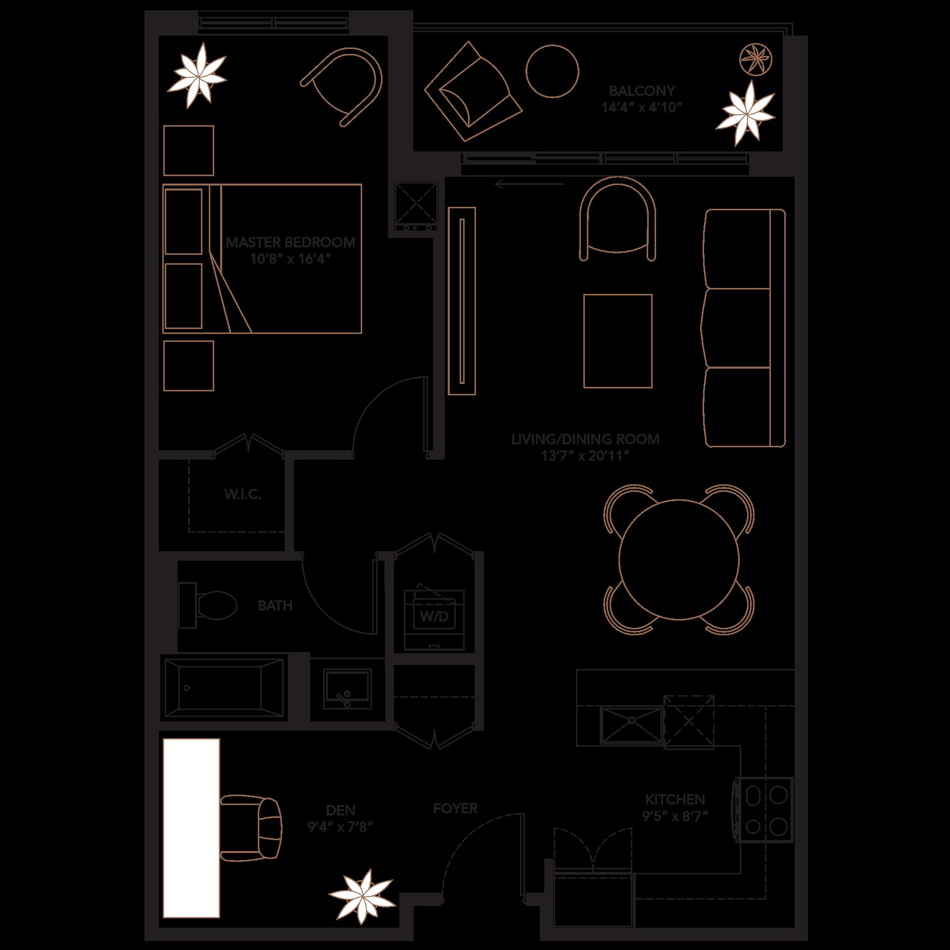 Plans monaco . Furniture clipart floor plan