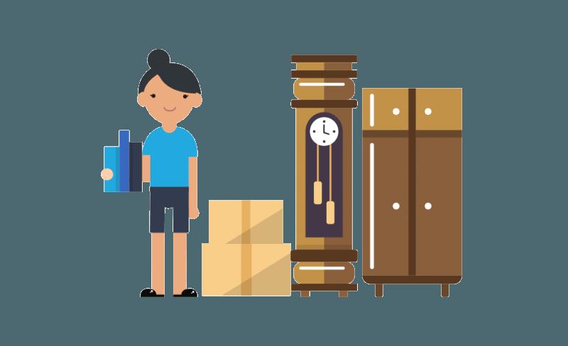 Oregon shipping company ship. Furniture clipart furniture delivery
