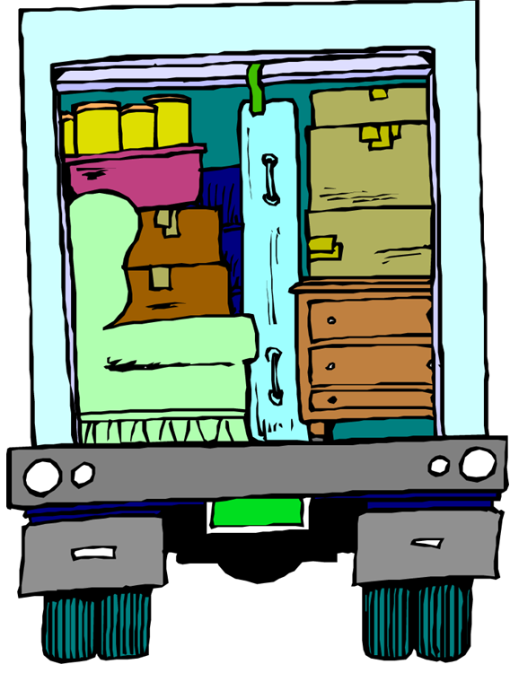Furniture clipart furniture delivery. Track my