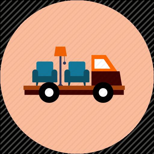 Furniture clipart furniture delivery.  scenicons e commerce