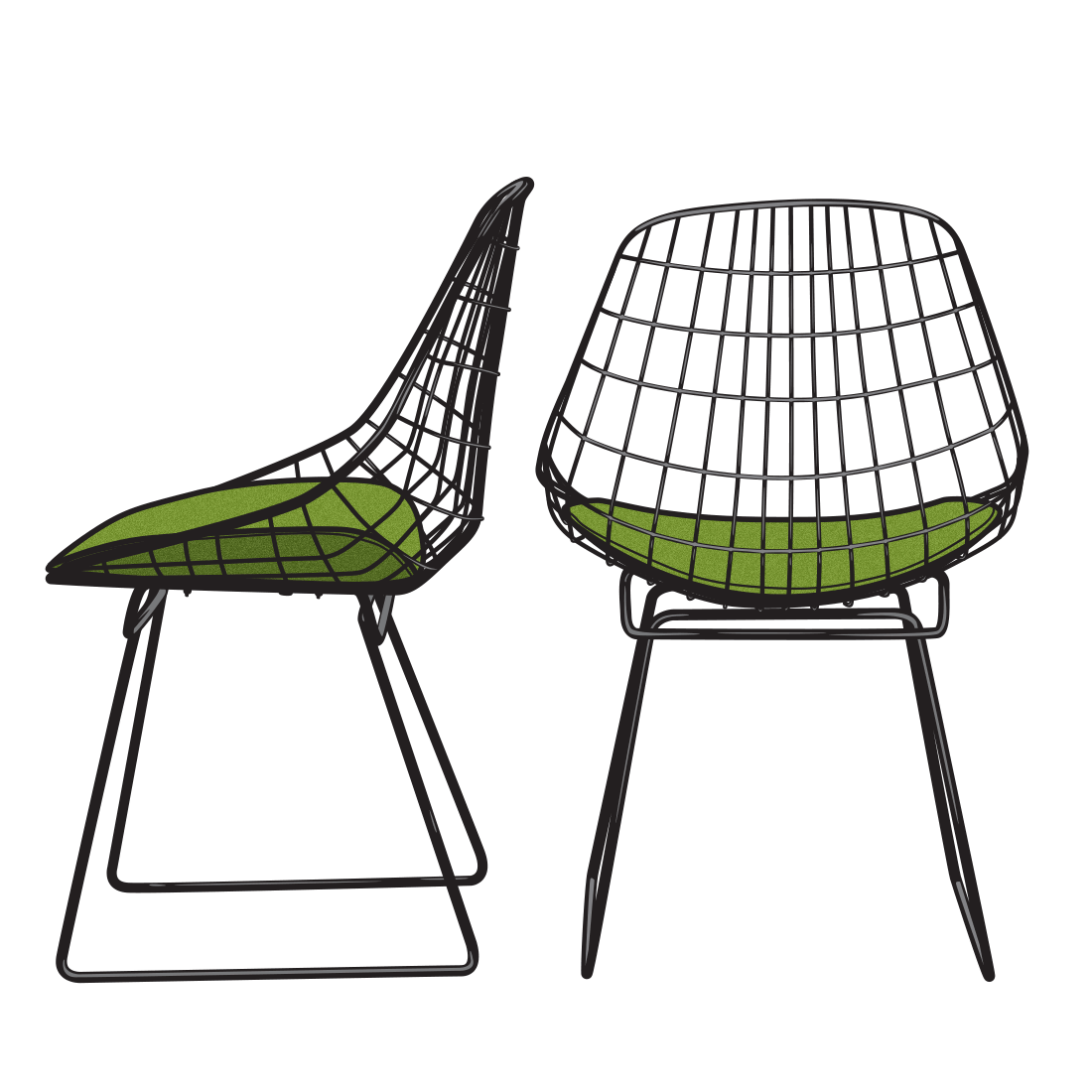 Furniture clipart furniture sale. Illustration drawings of classic