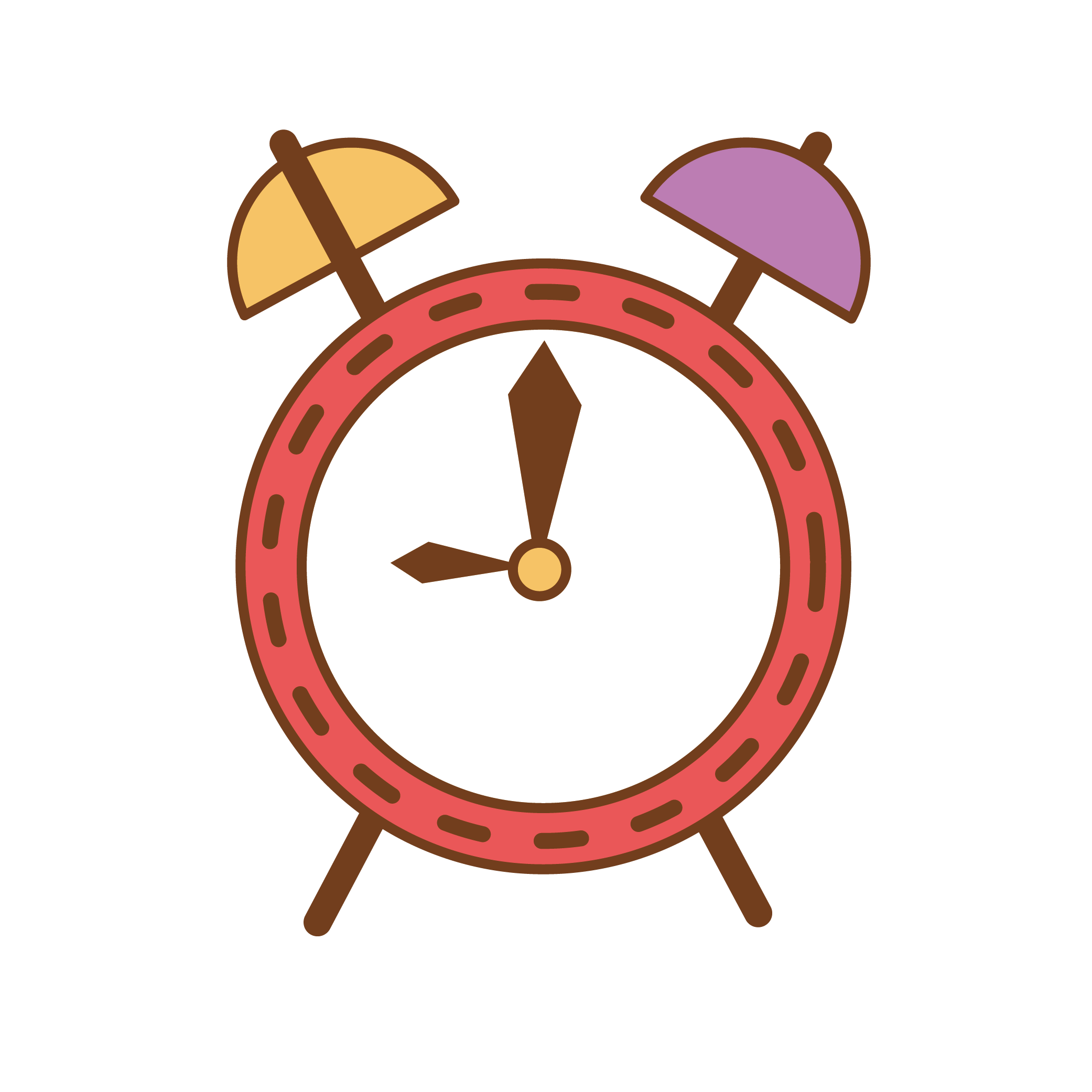Furniture clipart home accessory. Alarm clock cartoon transprent
