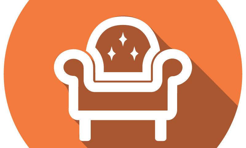 Chairs ottomans chaise lounges. Furniture clipart home furnishings