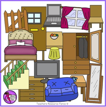 Rooms and clip art. Furniture clipart house furniture