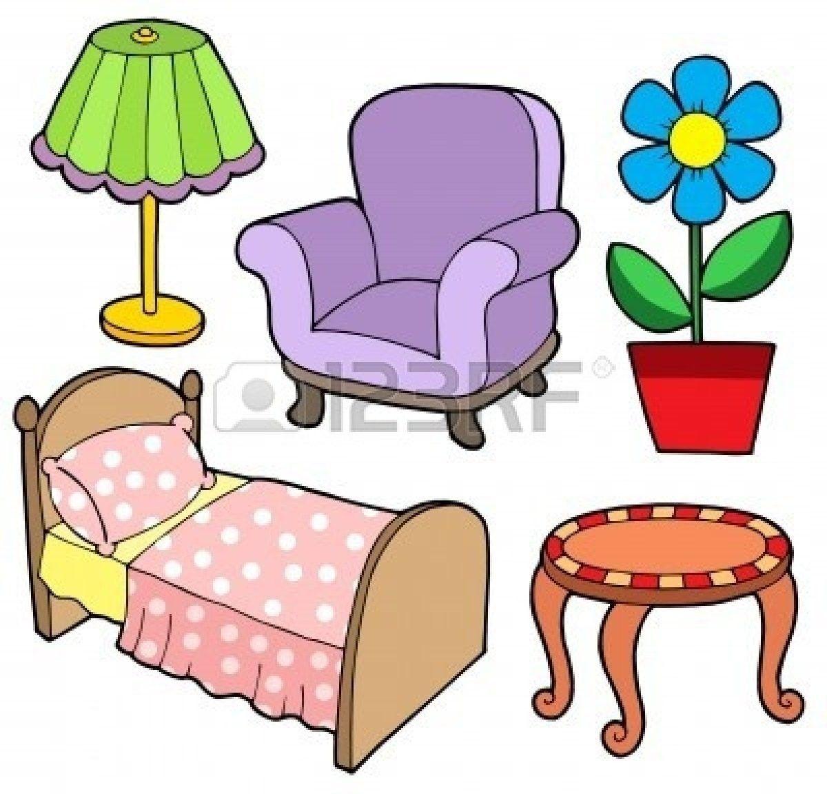 Furniture clipart household furniture. Clip art images panda