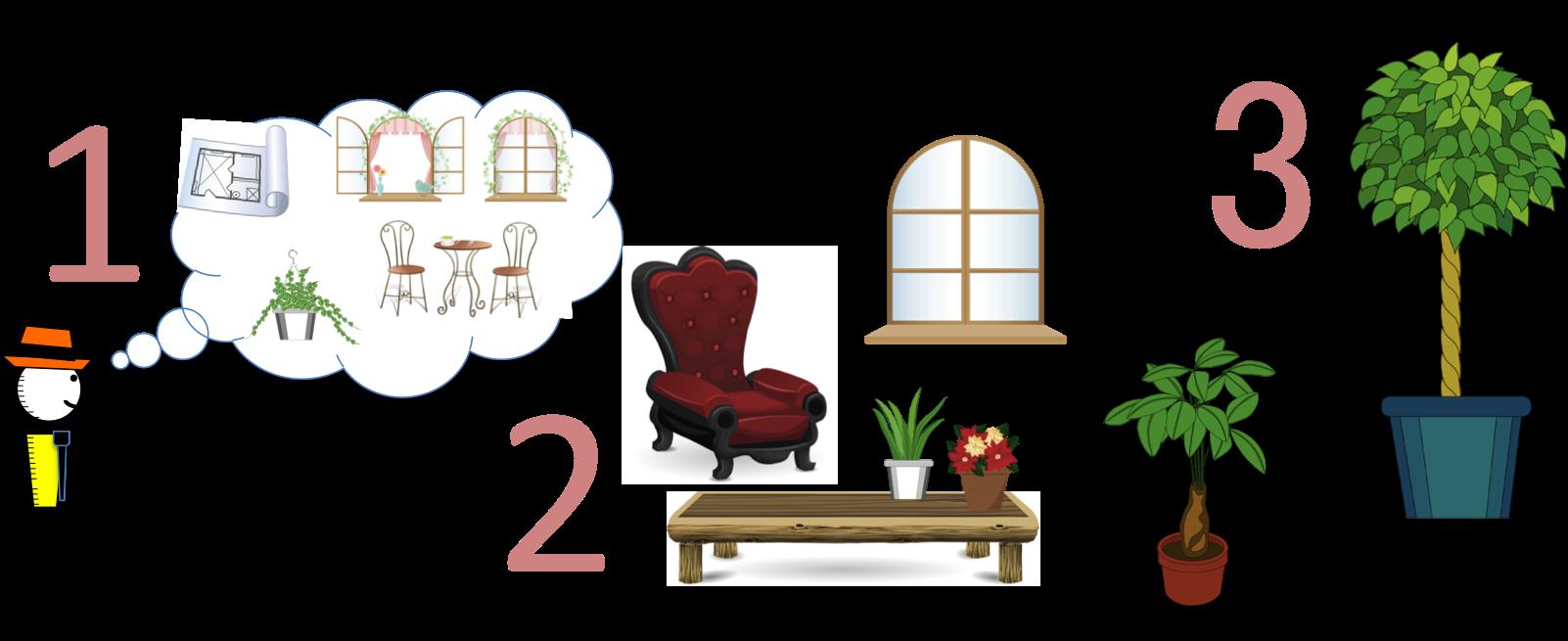 Furniture clipart interior design. Your room hire designer