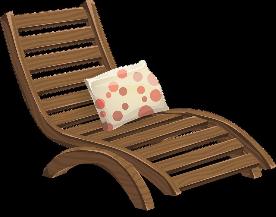 Deckchair png descansar pinterest. Furniture clipart lounge chair