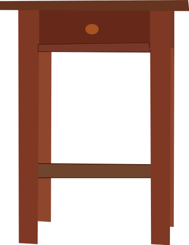 Free nightstand cliparts download. Furniture clipart night stand